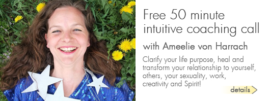 Ameelie von Harrach Intuitive Coaching - FREE hour intro session!